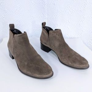 Paul Green Suede Ankle Boot Slip-On